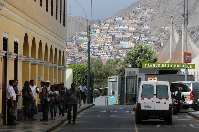 Lima Altstad und Randbezirke