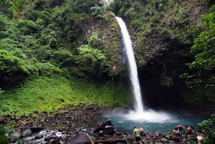 Tag 7 La Fortuna Wasserfall