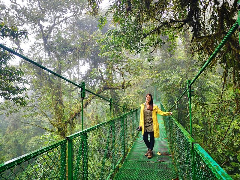 Tag 9 Hängebrücke Monteverde