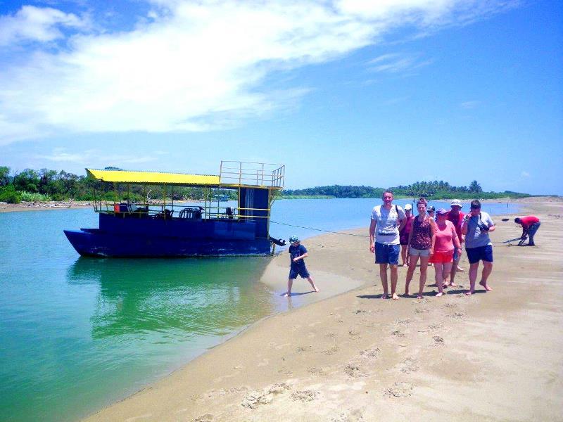 Tropical River Boat tour